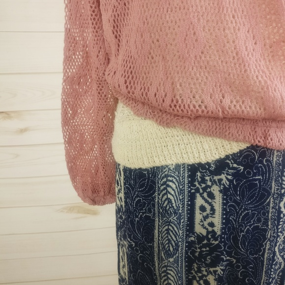 American Eagle Gorgeous Patterned Maxi Skirt